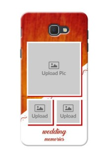 Samsung Galaxy J5 Prime Wedding Memories Mobile Cover Design