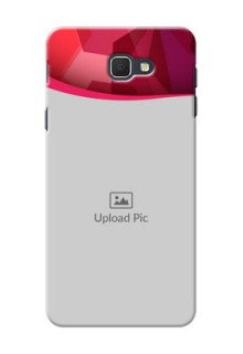 Samsung Galaxy J5 Prime Red Abstract Mobile Case Design