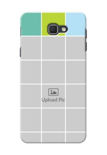 Samsung Galaxy J5 Prime white boxes pattern Design Design