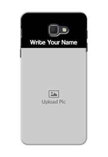 Galaxy J5 Prime Photo with Name on Phone Case