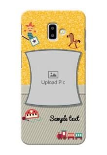 Samsung Galaxy J6 Plus Mobile Cases Online: Baby Picture Upload Design