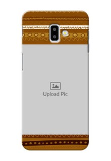 Samsung Galaxy J6 Plus Mobile Covers: Friends Picture Upload Design