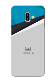 Samsung Galaxy J6 Plus Back Covers: Simple Pattern Photo Upload Design