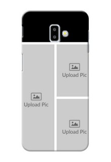 Samsung Galaxy J6 Plus Custom Mobile Cover: Upload Multiple Picture Design