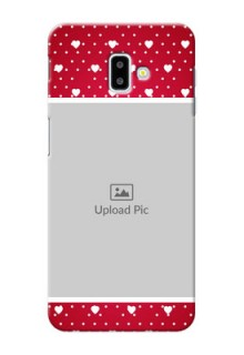 Samsung Galaxy J6 Plus custom back covers: Hearts Mobile Case Design