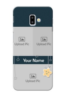 Samsung Galaxy J6 Plus Mobile Back Covers Online: Hanging Stars Design