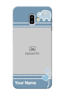 Samsung Galaxy J6 Plus Custom Phone Covers with Kids Pattern Design