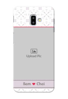 Samsung Galaxy J6 Plus Phone Cases with Photo and Ethnic Design
