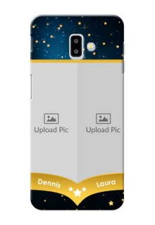 Samsung Galaxy J6 Plus Mobile Covers Online: Galaxy Stars Backdrop Design