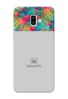 Samsung Galaxy J6 Plus Personalized Phone Cases: Watercolor Floral Design