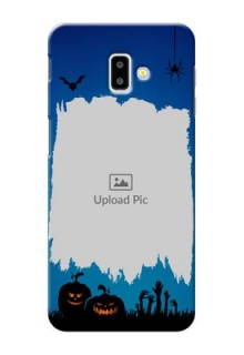 Samsung Galaxy J6 Plus mobile cases online with pro Halloween design