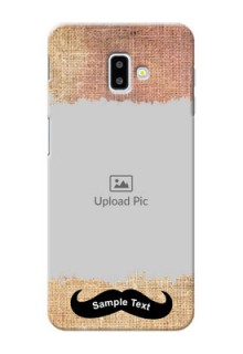Samsung Galaxy J6 Plus Mobile Back Covers Online with Texture Design