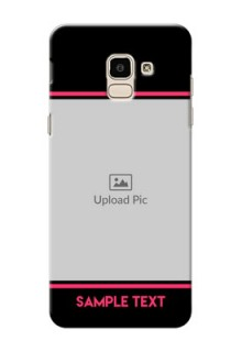 Samsung Galaxy J6 Photo With Text Mobile Case Design