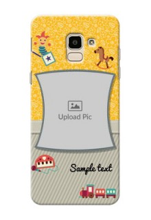 Samsung Galaxy J6 Baby Picture Upload Mobile Cover Design