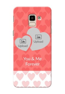 Samsung Galaxy J6 Couples Picture Upload Mobile Cover Design