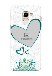 Samsung Galaxy J6 Couples Picture Upload Mobile Case Design