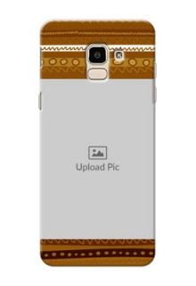 Samsung Galaxy J6 Friends Picture Upload Mobile Cover Design