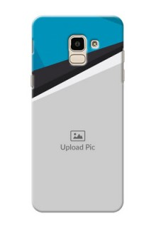 Samsung Galaxy J6 Simple Pattern Mobile Cover Upload Design