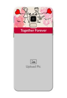 Samsung Galaxy J6 Just You And Me Mobile Back Case Design
