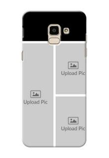 Samsung Galaxy J6 Multiple Picture Upload Mobile Cover Design