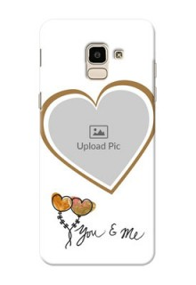 Samsung Galaxy J6 You And Me Mobile Back Case Design