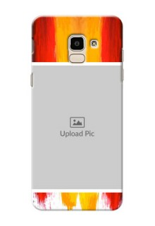 Samsung Galaxy J6 Colourful Mobile Cover Design