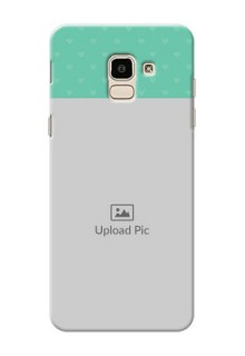 Samsung Galaxy J6 Lovers Picture Upload Mobile Cover Design
