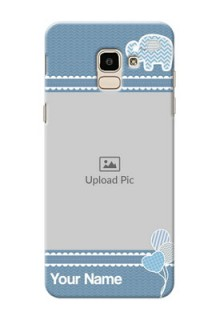 Samsung Galaxy J6 kids design icons with  simple pattern Design