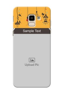 Samsung Galaxy J6 my family design with hanging icons Design