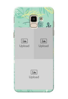 Samsung Galaxy J6 family is forever design with floral pattern Design