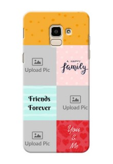 Samsung Galaxy J6 4 image holder with multiple quotations Design