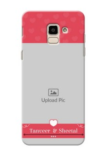 Samsung Galaxy J6 simple love Design