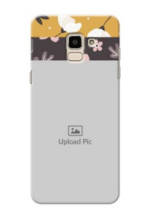 Samsung Galaxy J6 stylish floral side Design