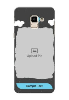 Samsung Galaxy J6 splashes backdrop with love doodles Design