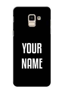 Galaxy J6 Your Name on Phone Case