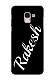 Galaxy J6 Custom Mobile Cover with Your Name