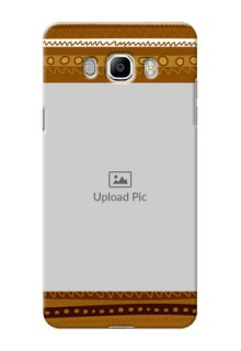 Samsung Galaxy J7 (2016) Friends Picture Upload Mobile Cover Design