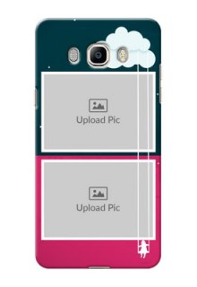 Samsung Galaxy J7 (2016) Cute Girl Abstract Mobile Case Design