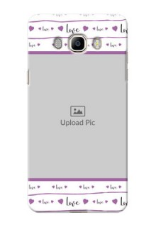 Samsung Galaxy J7 (2016) Couples Mobile Case Design