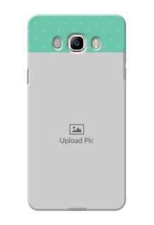 Samsung Galaxy J7 (2016) Lovers Picture Upload Mobile Cover Design