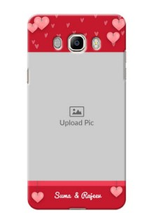Samsung Galaxy J7 (2016) valentines day couple Design