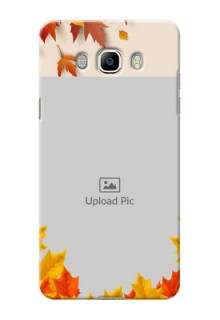 Samsung Galaxy J7 (2016) autumn maple leaves backdrop Design