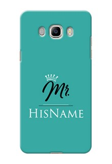 Galaxy J7 (2016) Custom Phone Case Mr with Name