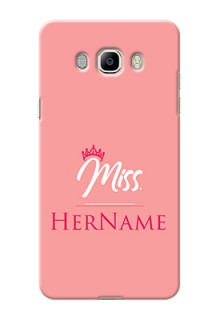 Galaxy J7 (2016) Custom Phone Case Mrs with Name