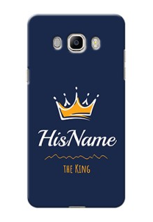 Galaxy J7 (2016) King Phone Case with Name