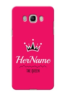 Galaxy J7 (2016) Queen Phone Case with Name
