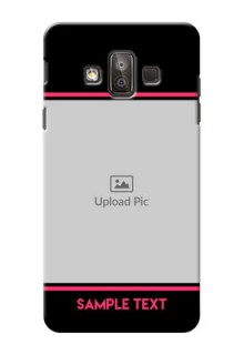 Samsung Galaxy J7 Duo Photo With Text Mobile Case Design