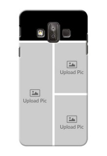 Samsung Galaxy J7 Duo Multiple Picture Upload Mobile Cover Design