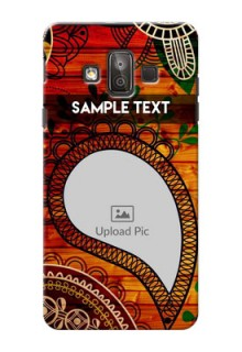 Samsung Galaxy J7 Duo Colourful Abstract Mobile Cover Design