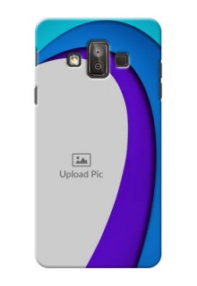 Samsung Galaxy J7 Duo Simple Pattern Mobile Case Design
